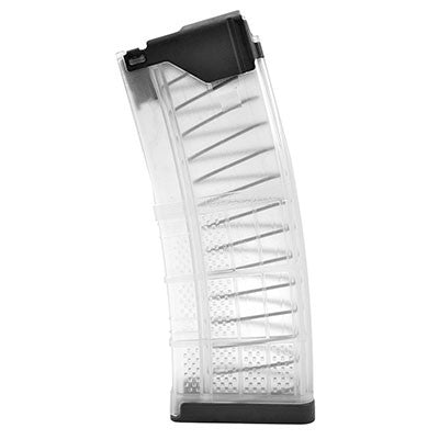 Lancer L5 AWM 30 Round .223/5.56 AR-15 Magazine Translucent Clear