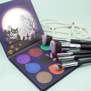 Brush Set & Eyeshadow Palette Combin - BEAKEY