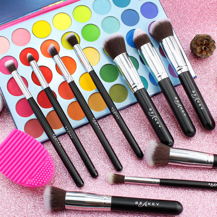 Professional Palette & Brush Set Combin - BEAKEY