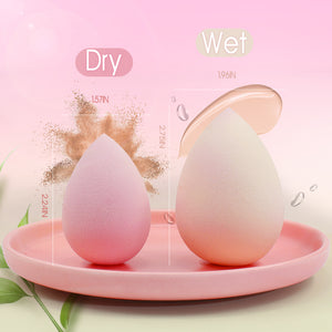 New Launched Color-Changing Makeup Sponge Set (2pcs) - BEAKEY