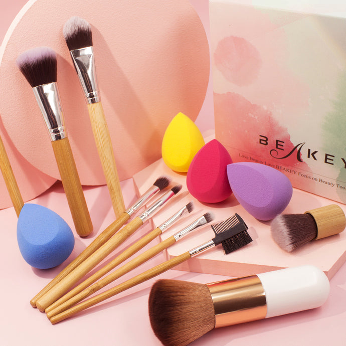 Professional Bamboo Brush Set - BEAKEY