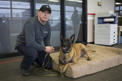 K9 Units in Harrisburg, PA Receive Donation of 23 Big Barker Dog Beds
