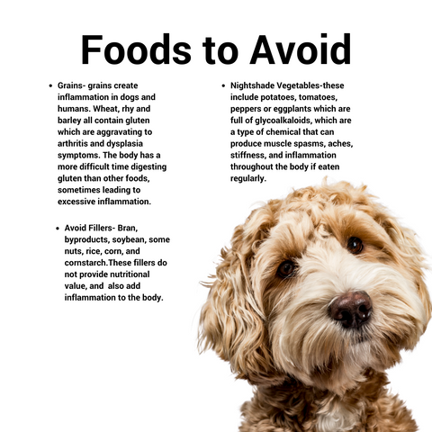 Foods to avoid for joint pain.