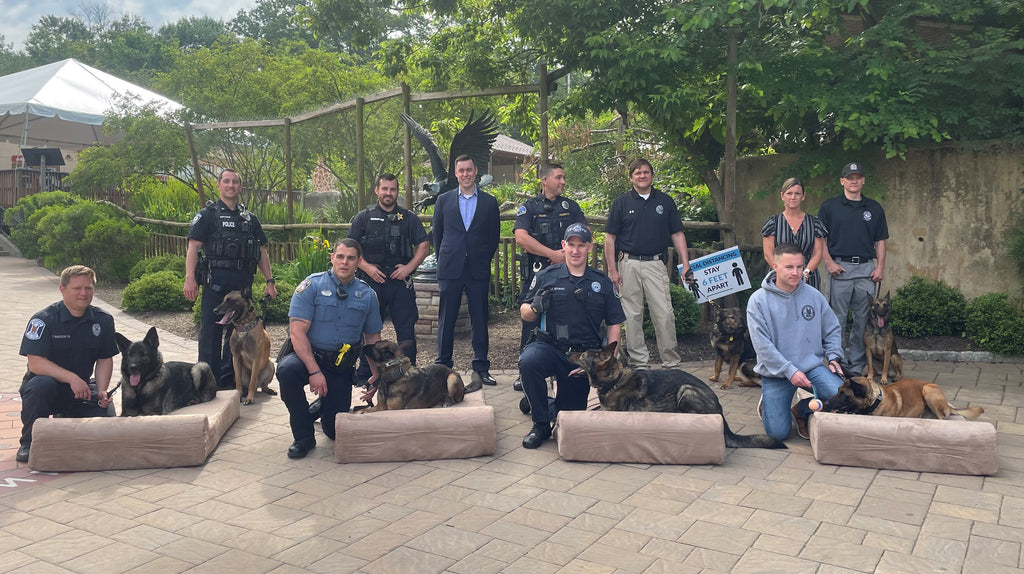 Montgomery County Sheriff's Office Big Barker K9 event