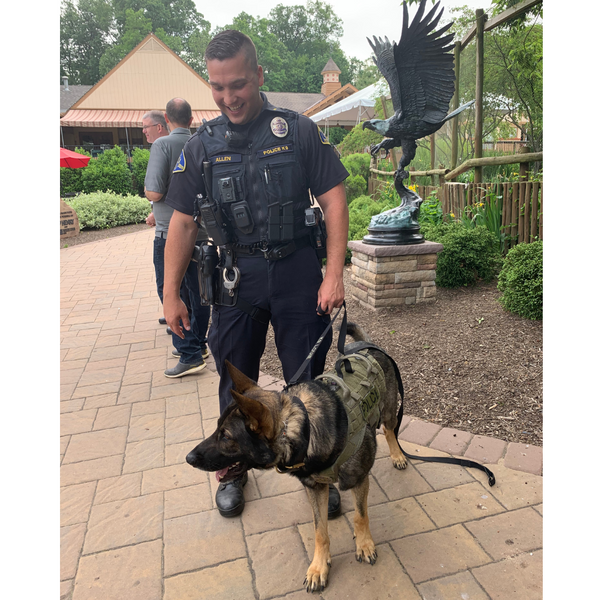 Officer and K9
