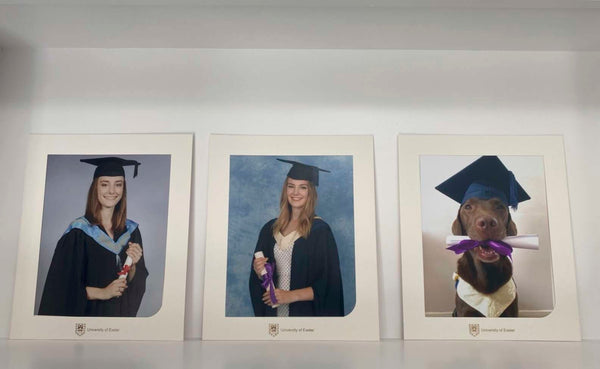 Wall of Graduation Pictures