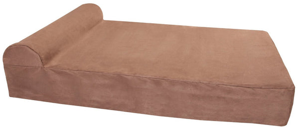 (Clearance) XL Khaki Bed - Headrest Edition