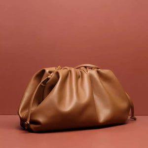 LYDIA TAN POUCH BAG - PREMIUM LEATHER COLLECTION