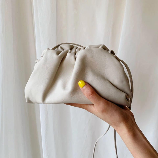 LYDIA MINI POUCH BAG - PREMIUM LEATHER COLLECTION