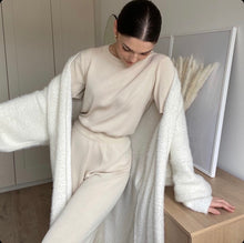 Load image into Gallery viewer, CANNES SILK KNIT CO-ORD VANILLA