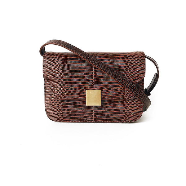 LE SATCHEL CHOCOLATE PREMIUM LEATHER