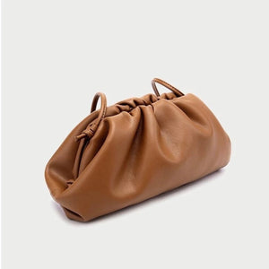 LYDIA TAN POUCH BAG - PREMIUM LEATHER COLLECTION -PREORDER