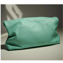 Load image into Gallery viewer, ROLLO MINT GENUINE LEATHER CLUTCH BAG