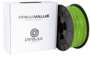 PrimaValue PLA Filament - 1.75mm - 1 kg spool - Grön