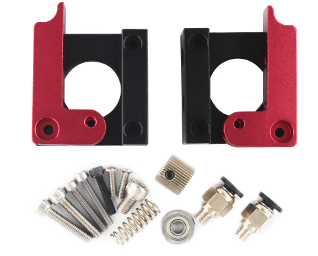 Extruder aluminum kit - MK8 - 1.75mm Filament