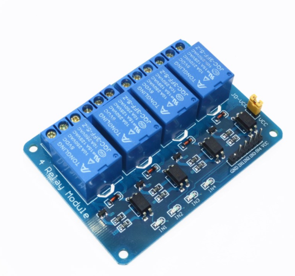 5V 4-Channel Relay/Relä Module Shield för Arduino