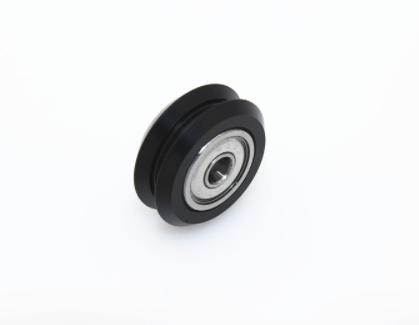 Plastic Dual Wheel with 625 bearing V-Slot