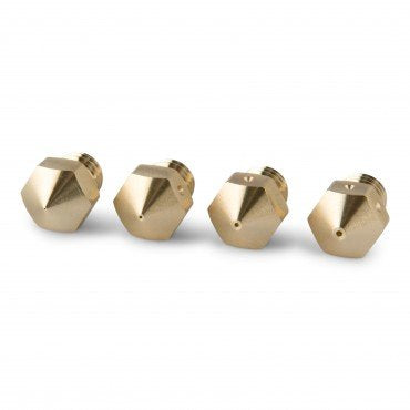 PrimaCreator MK8 Mixed Size Brass Nozzle - 4 pcs