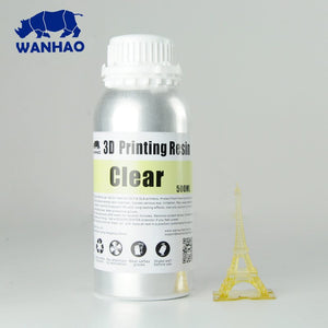 Wanhao 3D-Printer UV Resin - 500 ml - Clear