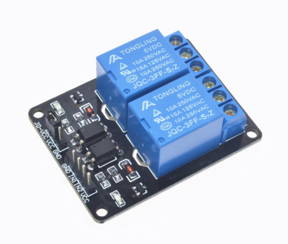 5V 2-Channel Relay/Relä Module Shield för Arduino
