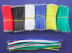 Lödningskablar 26AWG 7.8cm Fly jumper wire cable Tin Conductor wires
