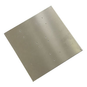 Aluminum platta for heatbed MK2 & MK2A