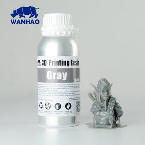 Wanhao 3D-Printer UV Resin - 500 ml - Grey