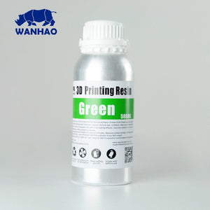 Wanhao 3D-Printer UV Resin - 500 ml - Green