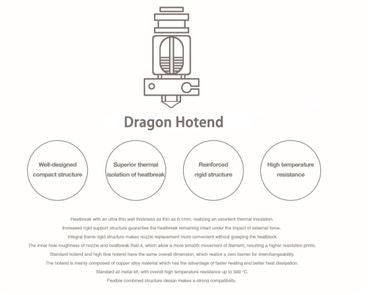 Phaetus Dragon High Flow Hot-End