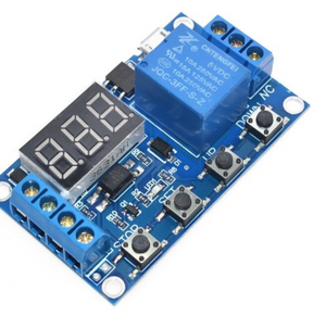 1 Channel 5V Relay Module Time Delay Relay Module Trigger OFF / ON Switch Timing Cycle 999 minutes for Relay Board Rele