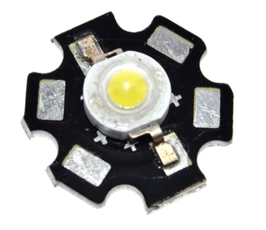 3W LED Bulb Diodes Lamp 220lm-240lm 20MM 700MA 3.2-3.4V