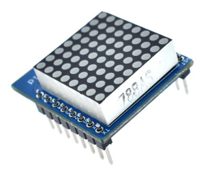 Matrix LED Shield V1.0.0 For WEMOS D1 Mini Digital Signal Output Controller Module 8 X 8 Dot Board Control