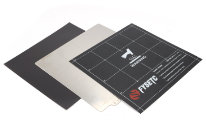 Magnetic Heatbed Build Surface Plate with Plate Sticker and Spring Steel Sheet