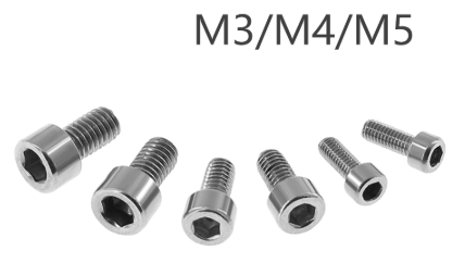 Stainless Steel Hexagon Socket Screws M3/M4/M5