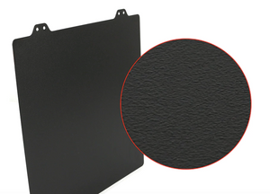 Double Sided Textured PEI Spring Steel Sheet Powder Coated PEI