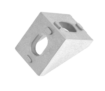 Aluminum Corner Connector Mounting Bracket for EU Standard 2020 Series Aluminum Extrusion Profile