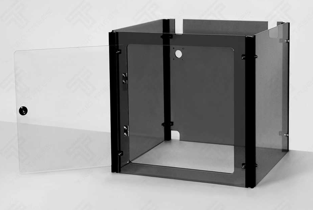 3D Printer Acrylic Case, Transparent Black Acrylic House