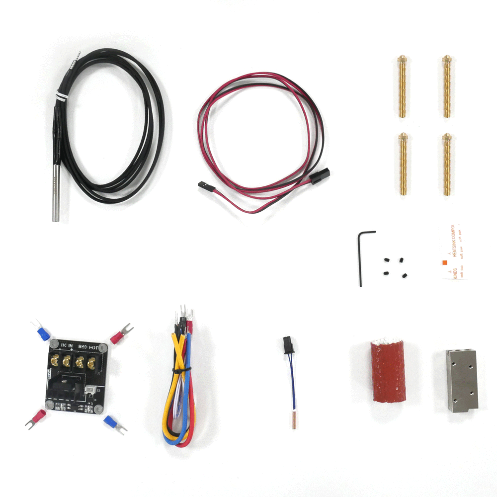 SuperVolcano Upgrade Kit - Hotend
