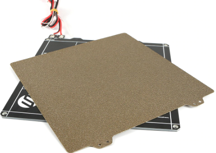 235x235mm Magnetic Heated Bed + Double Sided Textured Powder Coated PEI Spring Steel Sheet For Creality ENDER-3 / Ender 3s