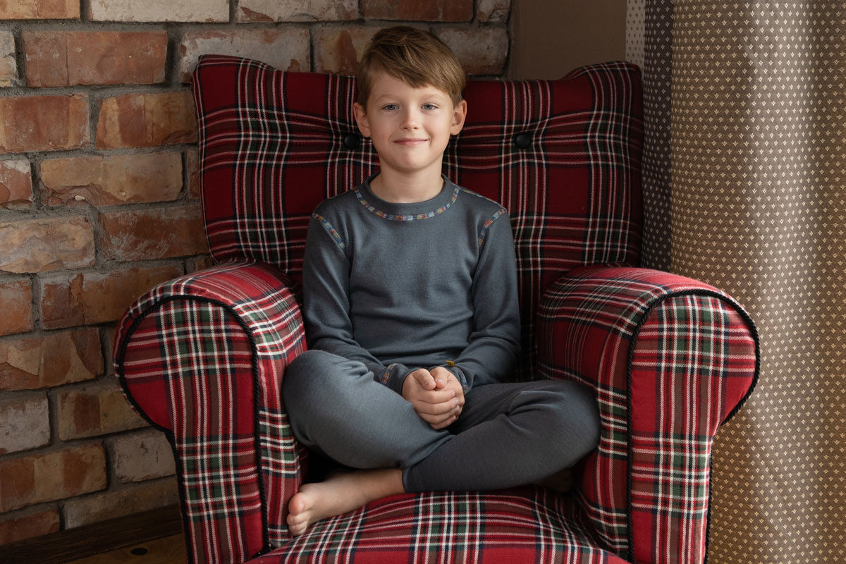menique merino wool kids' clothing collection