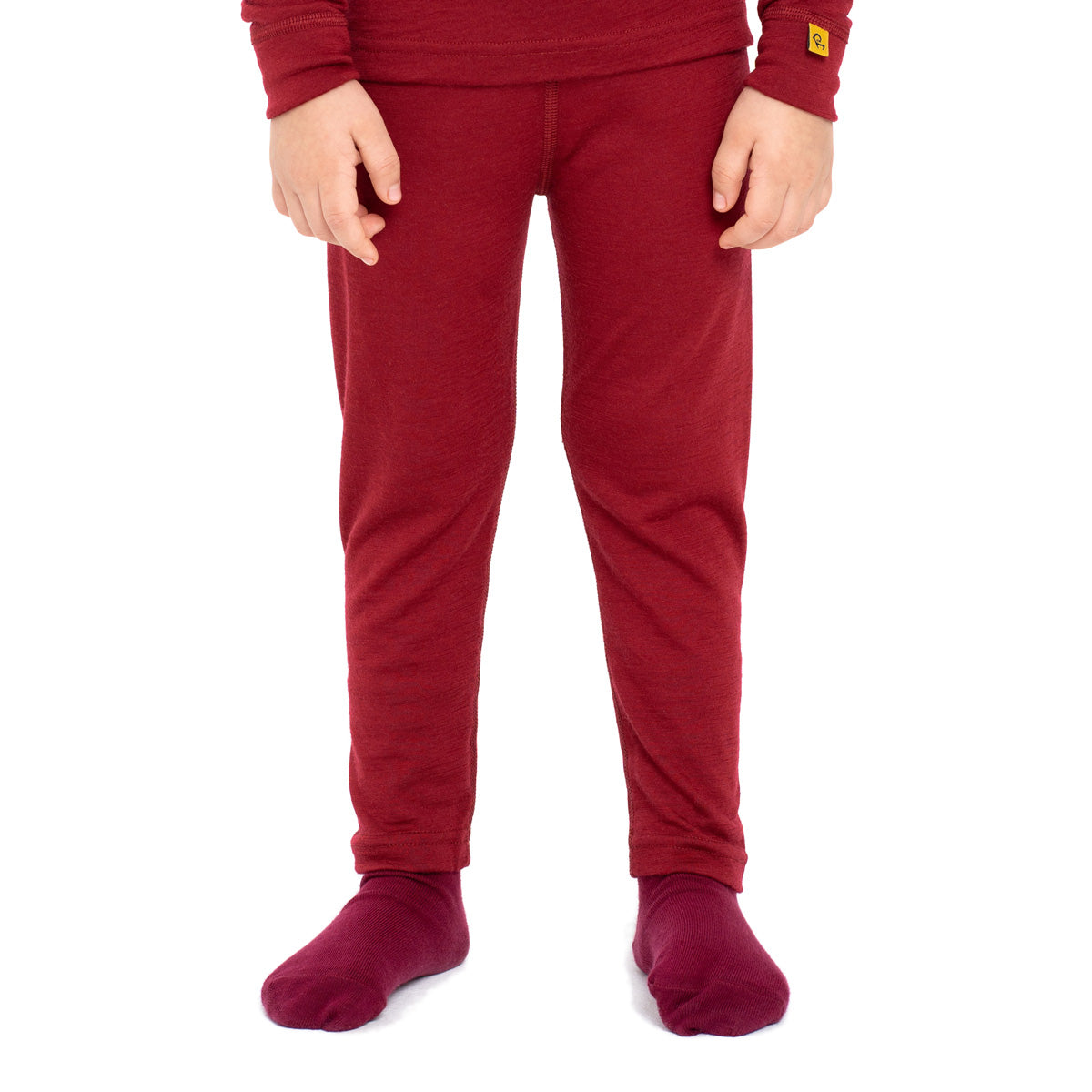 Kids' Merino 160 Pants Royal Cherry