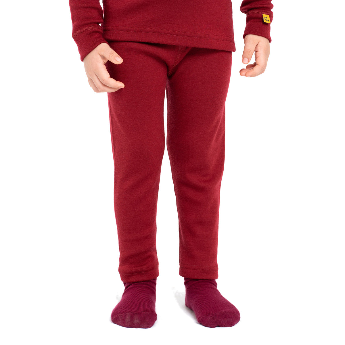 Kids' Merino 250 Pants Royal Cherry