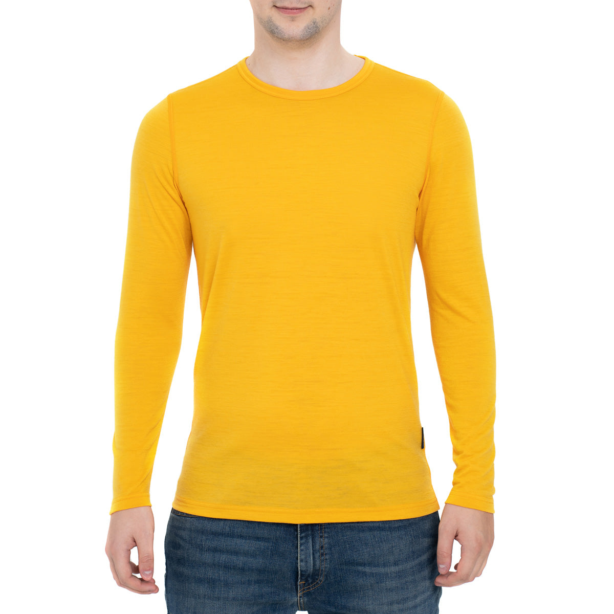 Men's Merino 160 Long Sleeve Crew Power Mango