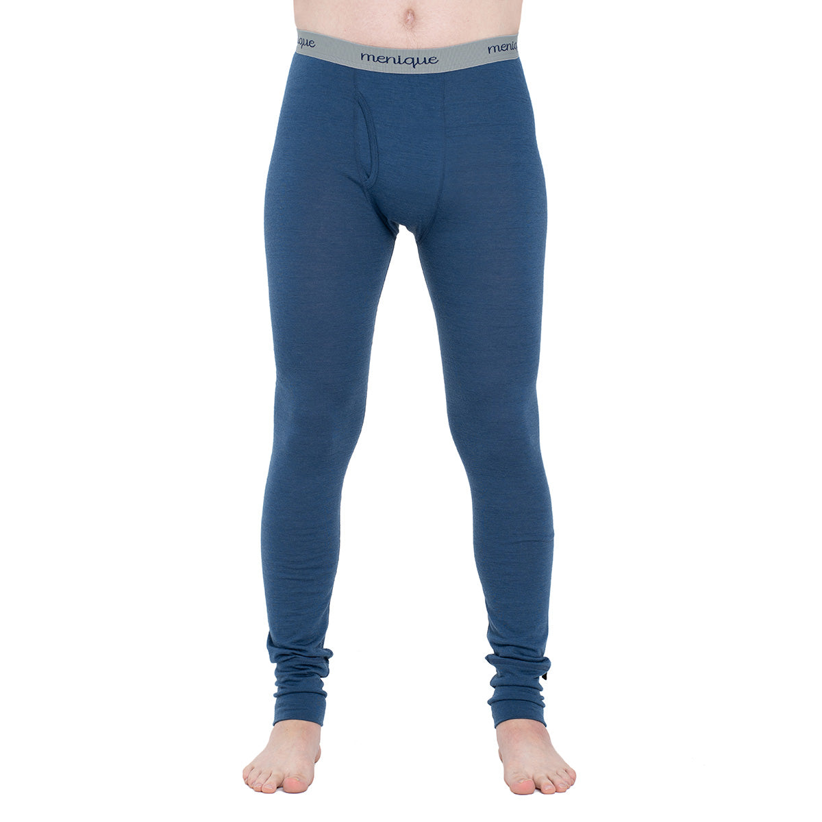 menique Men's Merino 160 Pants RB Denim Color