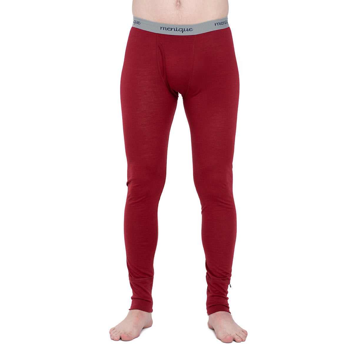 menique Men's Merino 160 Pants RB Royal Cherry Color