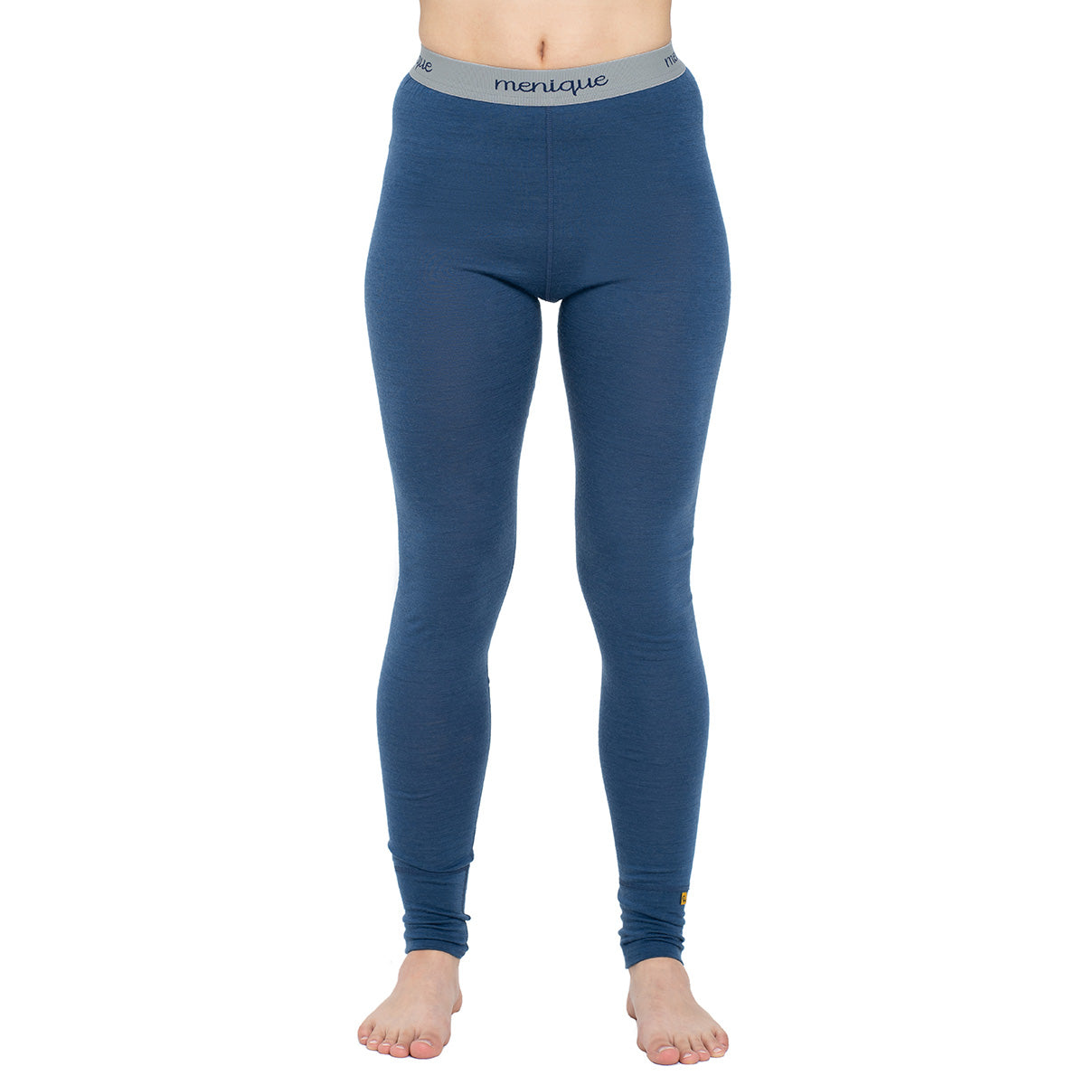 menique Women's Merino 160 Pants RB Denim Color