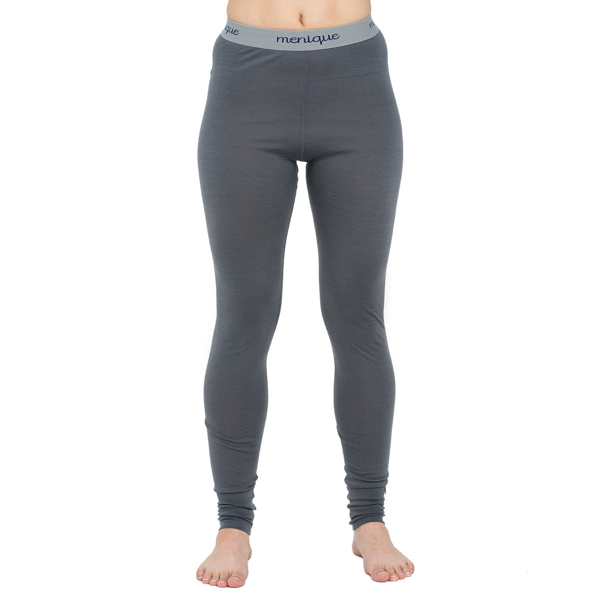 menique Women's Merino 160 Pants RB Perfect Grey Color