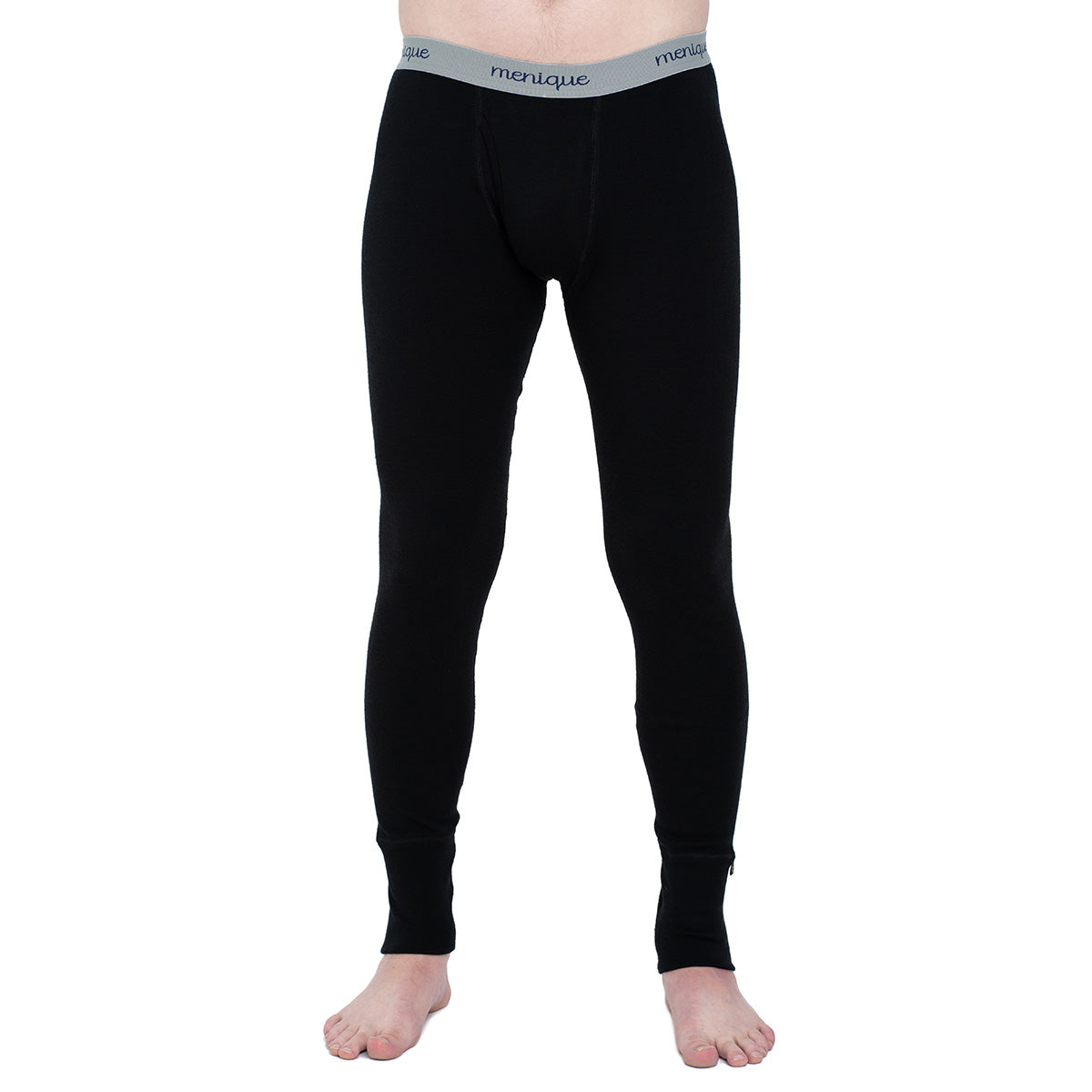menique Men's Merino 250 Pants RB Black Color