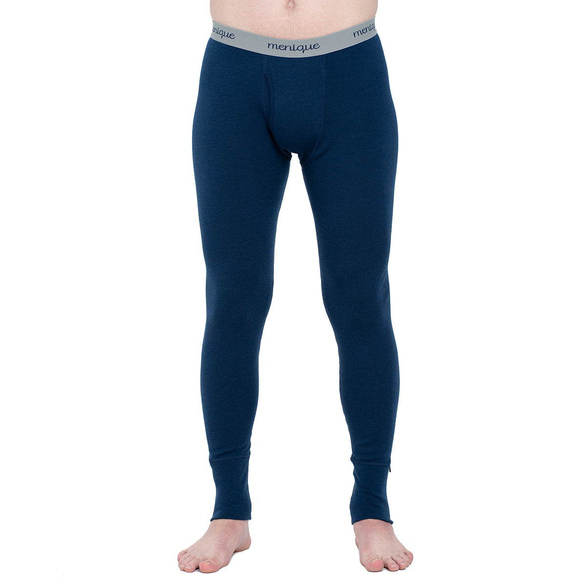menique Men's Merino 250 Pants RB Dark Blue Color
