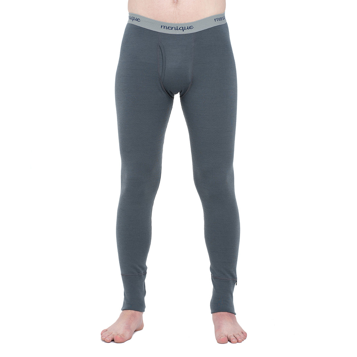 menique Men's Merino 250 Pants RB Perfect Grey Color